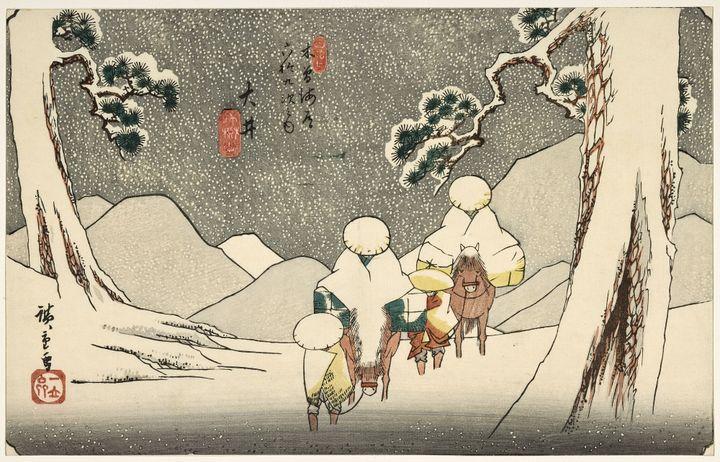 """Oi"", Utagawa Hiroshige (RMN-Grand Palais (MNAAG, Paris) / Mathieu Rabeau)"