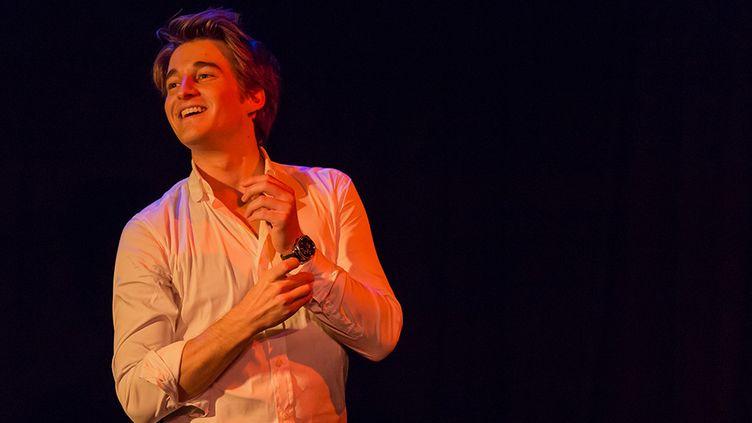 Jérémy Charbonnel sur scène  (Alain Papillon)