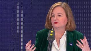 Nathalie Loiseau, le 11 novembre 2019. (FRANCEINFO / RADIO FRANCE)