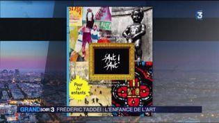 La couverture du livre d'Art d'Art ! Pour les enfants de Frédéric Taddéï (FRANCE 3)