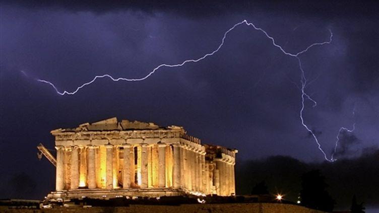 Athènes, en grande difficulté, va devoir faire de nombreuses réformes pour sortir de l'orage (AFP Photos)