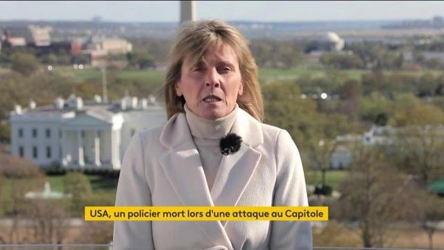 États-Unis : un homme attaque deux policiers devant le Capitole, un mort