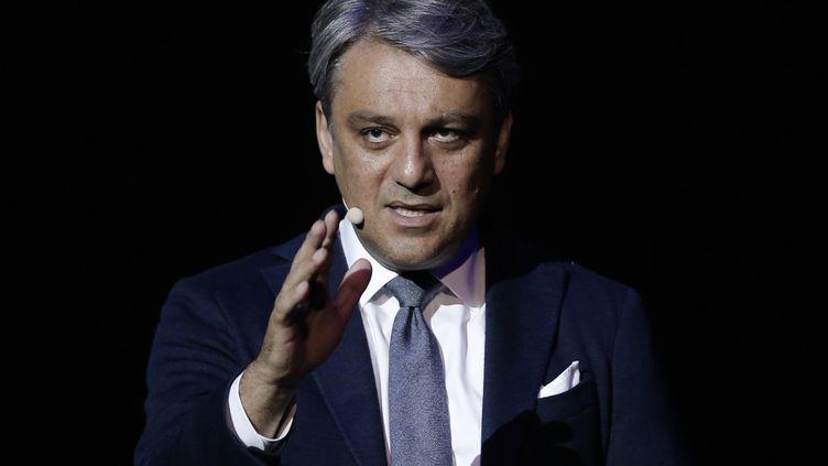Luca de Meo, le nouveau patron de Renault. (PAU BARRENA / AFP)