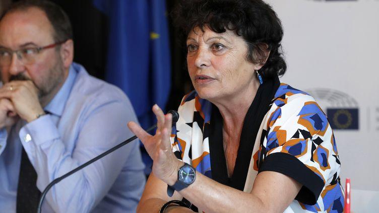 L'eurodéputée Michèle Rivasi, le 12 juillet 2017 à Paris. (FRANCOIS GUILLOT / AFP)