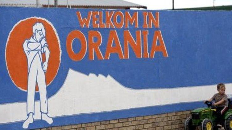 Orania, en Afrique du Sud. Ici ne vivent que des Blancs. (AFP)
