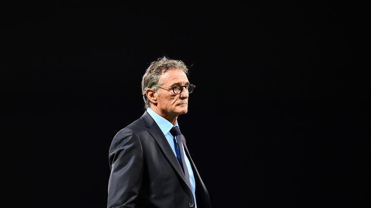 Guy Novès, le 25 novembre 2017. (FRANCK FIFE / AFP)