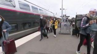 Parmi les régions qui devraient accueillir le plus de touristes dans les prochains jours, il y a le Sud, la Normandie mais aussi la Bretagne. (FRANCE 2)