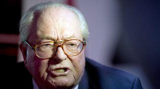 L'eurodéputé Jean-Marie Le Pen, le 25 janvier 2015. (ALAIN JOCARD / AFP)