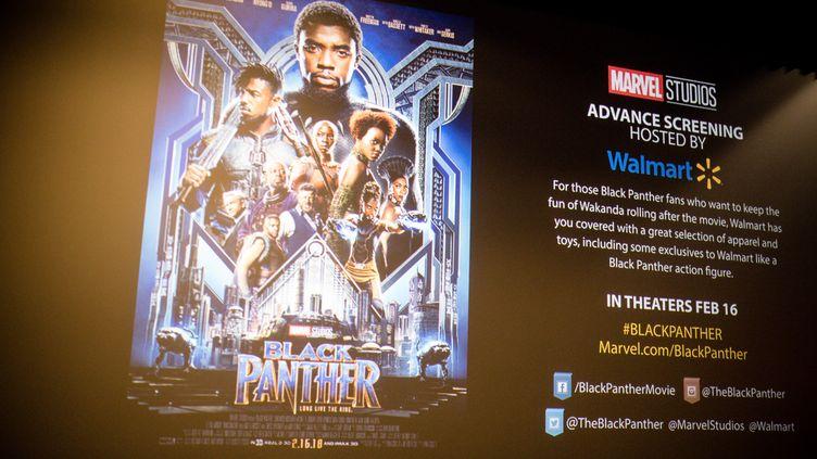 """Le film """"Black Panther"""" est sorti le 16 février aux Etats-Unis et deux jours avant en France. (MARCUS INGRAM / GETTY IMAGES NORTH AMERICA)"""
