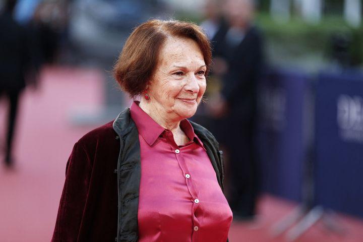 L'actrice française Francoise Arnoul, le 5 septembre 2016, à Deauville (CHARLY TRIBALLEAU / AFP)