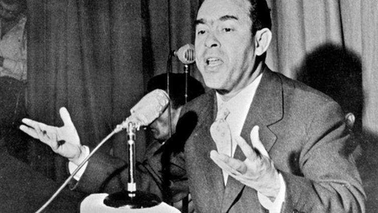 L'opposant marocain Mehdi Ben Barka, en 1959 (© AFP /)