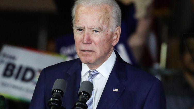 Joe Biden, le 3 mars 2020 à Los Angeles. (XAVIER COLLIN/IMAGE PRESS AGENCY / MAXPPP)
