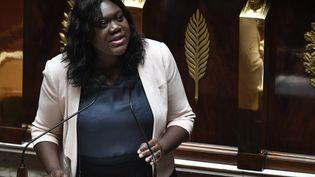 La députée LREM, à l'Assemblée nationale, à Paris, le 3 juillet 2019. (STEPHANE DE SAKUTIN / AFP)