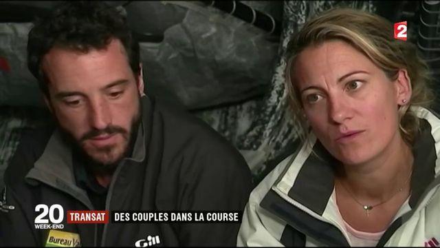 Transat Jacques Vabre : des couples dans la course
