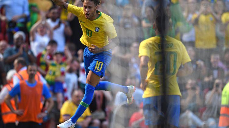 Neymar a rejoué pour la première fois depuis trois mois (OLI SCARFF / AFP)