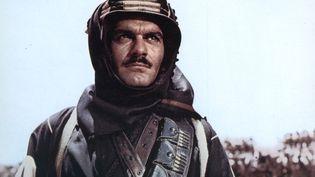 """L'acteur égyptien Omar Sharif dans """"Lawrence d'Arabie"""", en 1962. ( AFP )"""