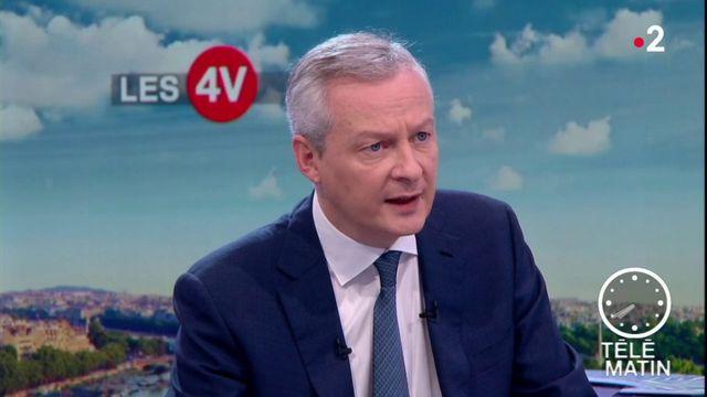 Bruno Le Maire sur la taxation des GAFA