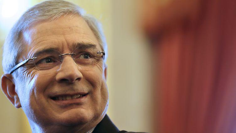 Le président de l'Assemblée nationale, Claude Bartolone, le 6 avril 2013 à Paris. (KENZO TRIBOUILLARD / AFP)
