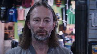 """Thom Yorke dans le clip de """"Daydreaming"""" de Radiohead signé Paul Thomas Anderson.  (saisie écran)"""