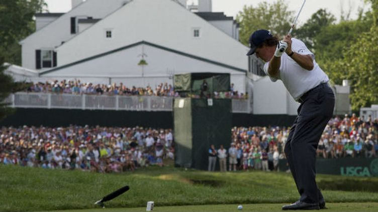 Phil Mickelson est bien placé pour remporté l'US Open