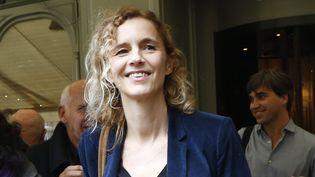 Delphine de Vigan le 3 novembre 2015  (FRANCOIS GUILLOT / AFP)