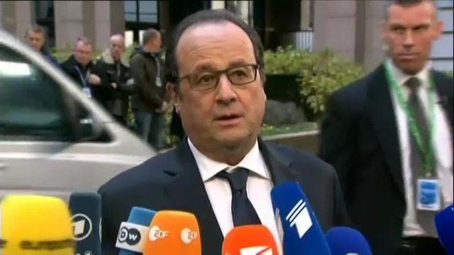 """Hollande à Cameron avant le sommet européen : """"Il n'est pas acceptable de revoir ce qui fonde les engagements européens,"""""""