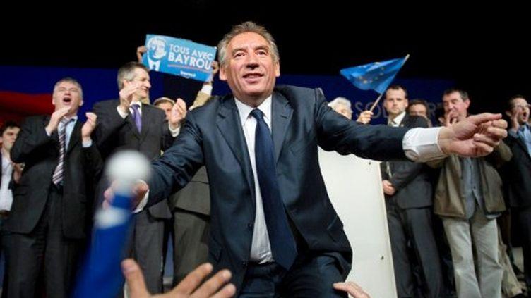 François Bayrou veut rassembler la famille centriste (BERTRAND LANGLOIS / AFP)