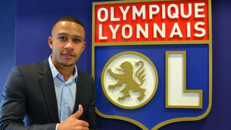 Le nouveau joueur de l'OL, Memphis Depay