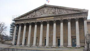 À l'Assemblée nationale, le calendrier parlementaire est suspendu (photo d'illustration). (MANON KLEIN / FRANCE-CULTURE)