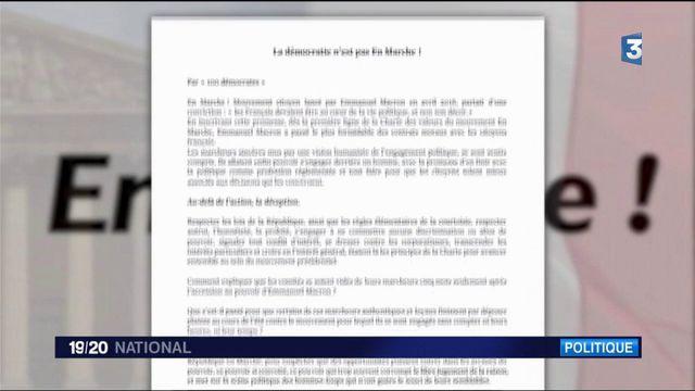 """La République en Marche : 100 """"marcheurs"""" vers la sortie"""