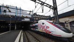 L'Océane, le nouveau TGV qui relie Paris à Bordeaux. (MEHDI FEDOUACH / AFP)