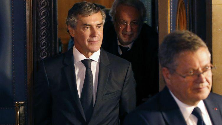 L'ancien ministre du Budget, Jérôme Cahuzac, le 8 février 2016 à Paris. (CHARLES PLATIAU / REUTERS)