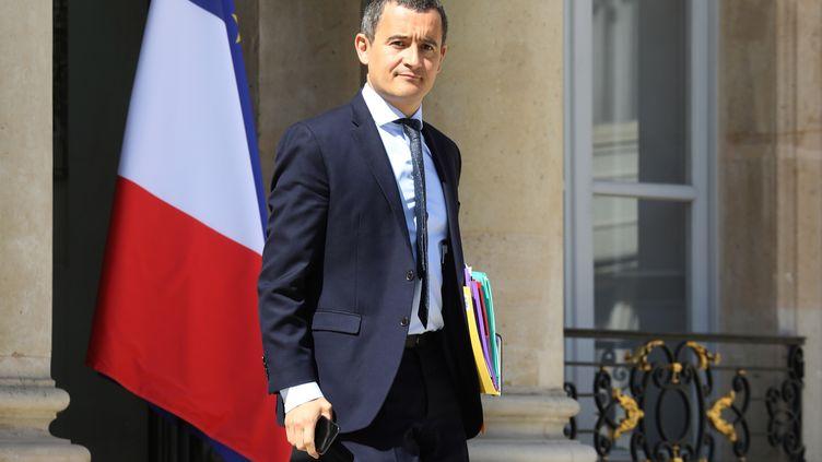 Le ministre de l'Action et des Comptes publics, Gérald Darmanin, à l'Elysée, le 9 juillet 2019. (LUDOVIC MARIN / AFP)