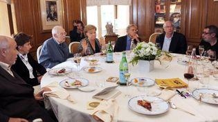 Le jury du Goncourt en juin 2011  (M.Gangne. AFP)