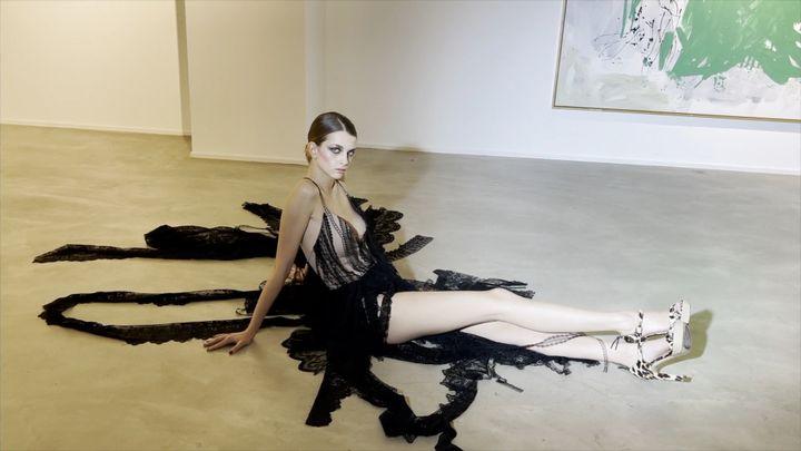 Aélis couture printemps-été 2021, à Paris, le 28 janvier 2021 (Aélis)