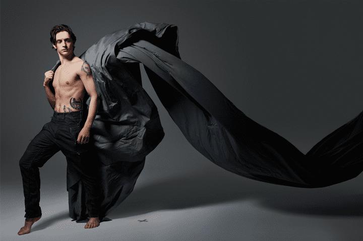 "Expo ""Ballet Couture' : Sergei Polunin par Danil Golovkin pour Vogue Russie  (Ballet Couture Alfalibra Gallery)"