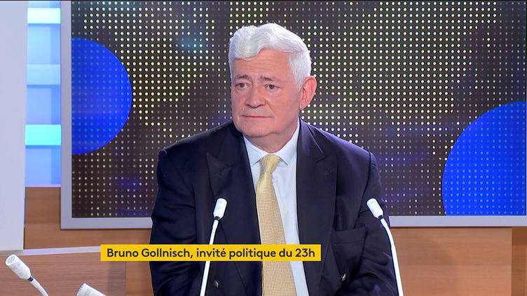 Bruno Gollnisch (FRANCEINFO)