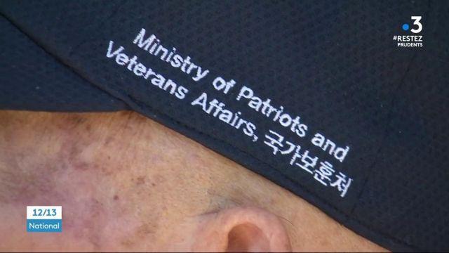 Guerre de Corée : un vétéran français a reçu des masques de la part de Séoul