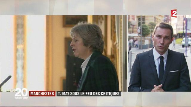 Royaume-Uni : Theresa May sous le feu des critiques
