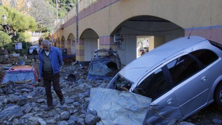 A Monterosso, dans le département de La Spezia (Ligurie), le 26 octobre 2011. (FABIO MUZZI / AFP)