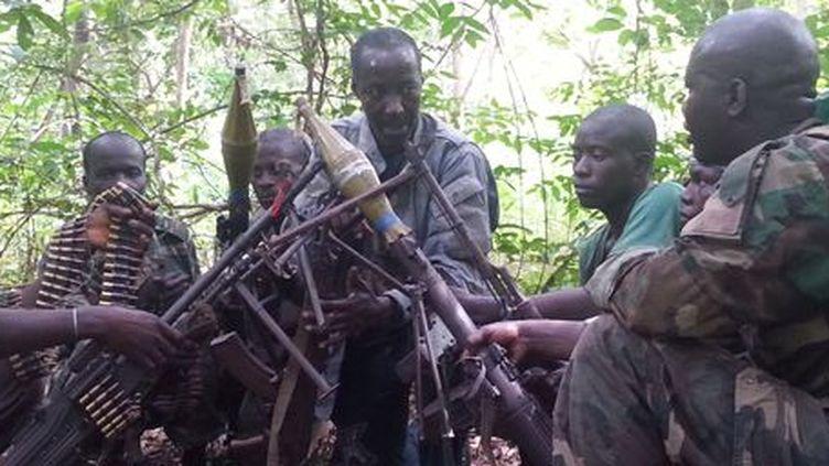 Casamance: combattants du MFDC. (François Badaire)