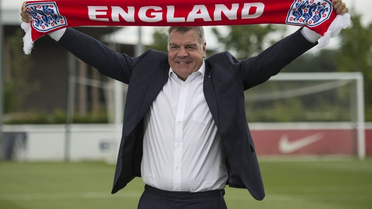 Le sélectionneur de l'Angleterre, Sam Allardyce, le 25 juillet 2016. (OLI SCARFF / AFP)