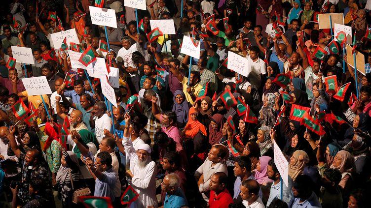 Le président des Maldives Abdulla Yameen a décrété l'état d'urgence pour une durée de 15 jours, lundi5 février 2018. (REUTERS)