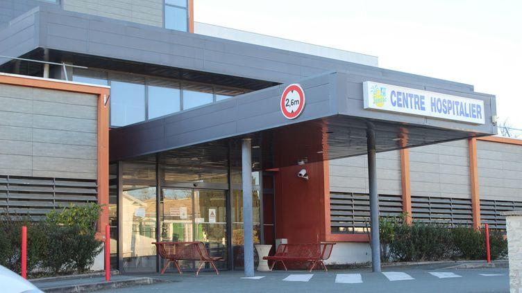 L'hôpital de Jonzac, en Charente-Maritime, le 15 février 2019. (GOBIN MARIE-LAURE / MAXPPP)