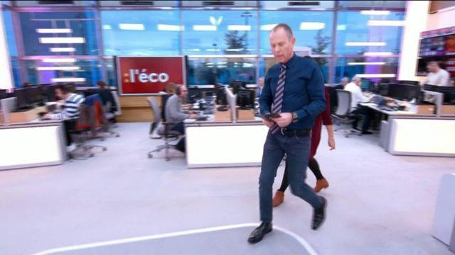 """Invitée de Stéphane Dépinoy dans """":L'éco"""", Asma Ben Jemaa est venue présenter sa société de co-voiturage de colis, Jwebi, crée en 2014."""