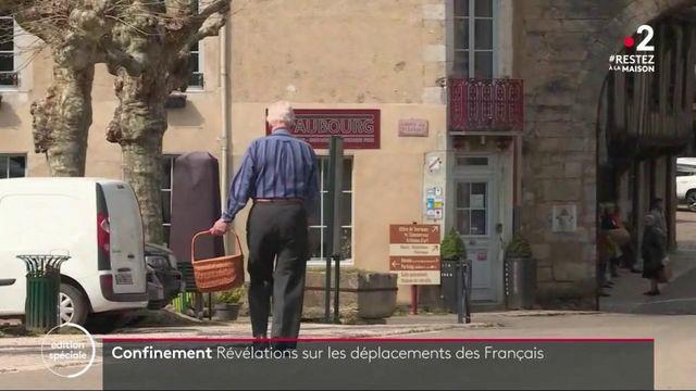 Confinement : révélations sur les déplacements des Français