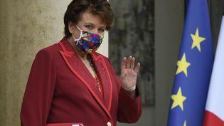 La ministre de la Culture, Roselyne Bachelot, à l'Elysée le 28 septembre 2020. (BERTRAND GUAY / AFP)