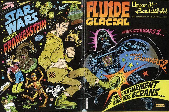 Couverture pastiche publiée par Fluide Glacial en 1980  (DR)