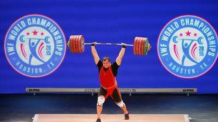 Aleksei Lovchev lors des championnats du monde à Houston en novembre 2015 (SCOTT HALLERAN / GETTY IMAGES NORTH AMERICA)
