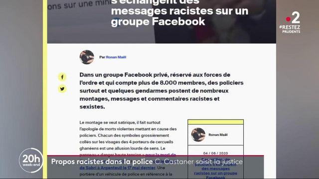 Propos racistes au sein de la police : Christophe Castaner saisit la justice